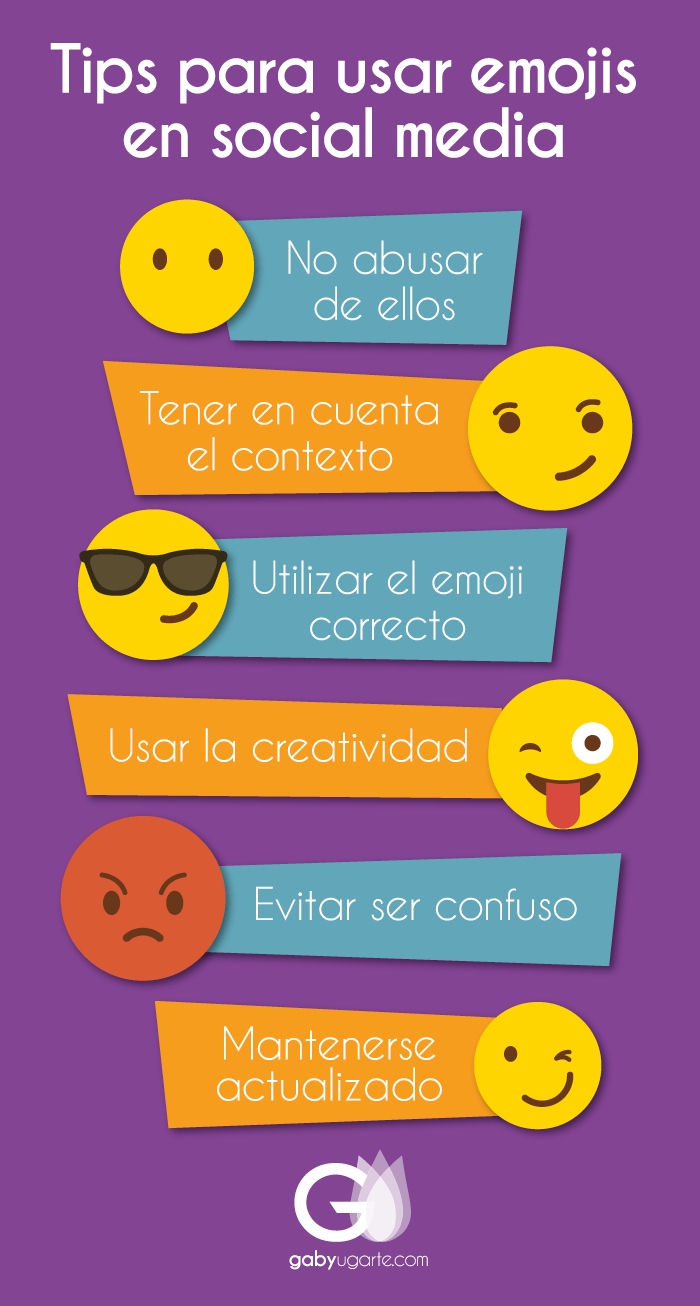 Tips para usar emojis en social media